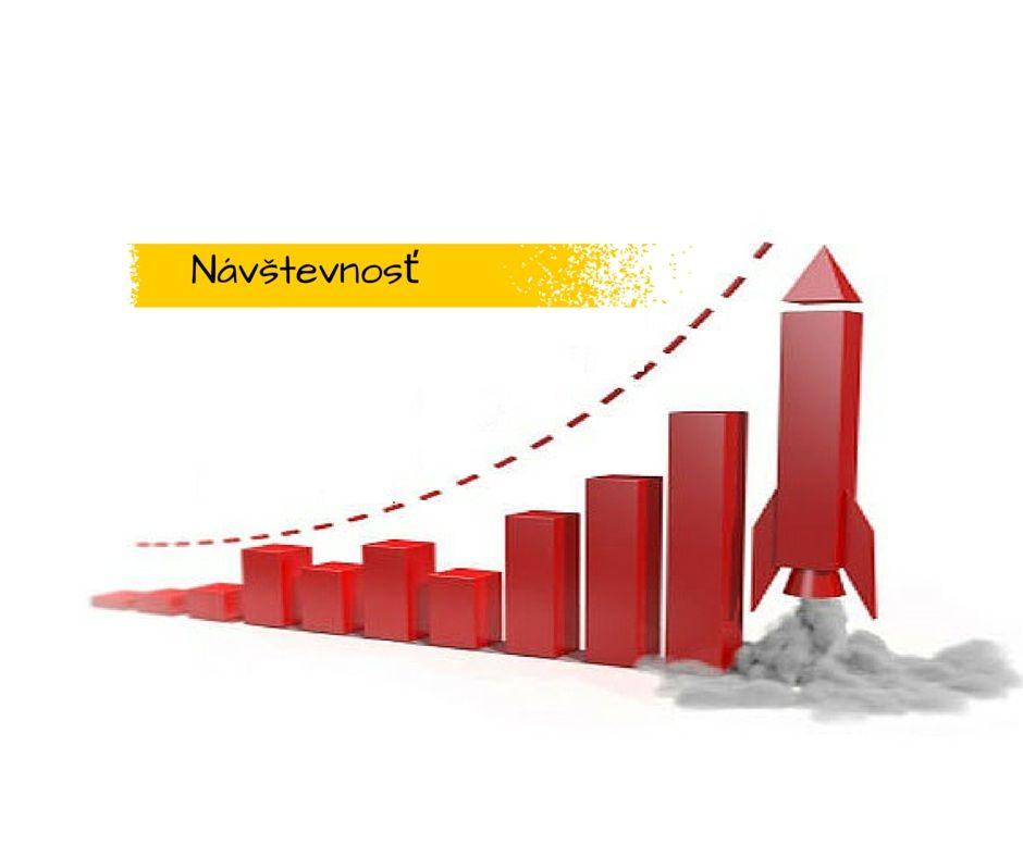 zvýšia návštevnosť, viac navstev, vyssia traffic, navstevnost blogu, navstevnost webu