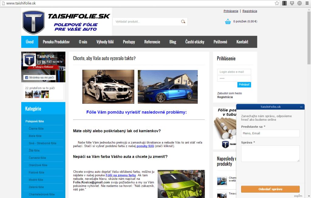 online chat zopim smartsupp viac konverzii eshop eshopovac.sk