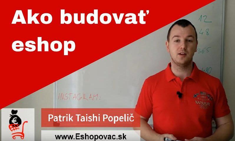 ako budovat eshop pocas roka - Patrik Popelic eshopovac